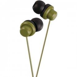 JVC - HAFX8G - JVC HA-FX8-G Earphone - Stereo - Green - Mini-phone - Wired - Gold Plated - Earbud - Binaural - Open - 3.28 ft Cable