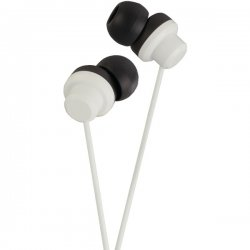 JVC - HAFX8W - JVC HA-FX8-W Earphone - Stereo - White - Wired - Gold Plated - Earbud - Binaural - Open - 3.28 ft Cable