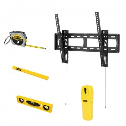 Stanley / Black & Decker - 857912005797 - Stanley 37 - 60 Tilt Tv Mount Bundle