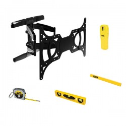 Stanley / Black & Decker - 857912005742 - Stanley 37 - 65 Full-motion Tv Mount Bundle
