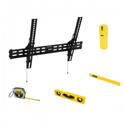 Stanley / Black & Decker - 857912005766 - Stanley 37 - 60 Tilt Tv Mount Bundle