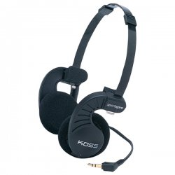 Koss - 147779 - Koss SPORTAPRO Portable Headphone - Wired - 60 Ohm - 15 Hz 25 kHz - Binaural - 4 ft Cable