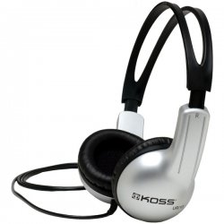 Koss - UR10 - Koss UR10 Stereo Headphone - Stereo - Silver - Mini-phone - Wired - 32 Ohm - 60 Hz 20 kHz - Over-the-head - Binaural - Supra-aural - 4 ft Cable