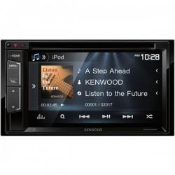 Kenwood - DDX340BT - KENWOOD(R) DDX340BT 6.2 WVGA Double-DIN In-Dash DVD Receiver with Bluetooth(R) & SiriusXM(R) Ready