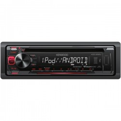 Kenwood - KDC-230U - KENWOOD(R) KDC-230U Single-DIN In-Dash MP3 AM/FM/CD Receiver