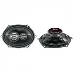 "Lanzar - MX573 - Lanzar MX573 Speaker - 220 W RMS - 440 W PMPO - 3-way - 2 Pack - 60 Hz to 20 kHz - 4 Ohm - 5"" x 7"""