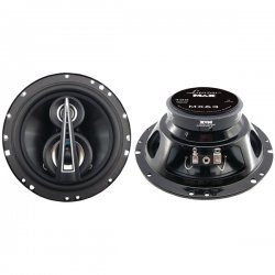 Lanzar - MX63 - Lanzar MX63 Speaker - 100 W RMS - 200 W PMPO - 3-way - 2 Pack - 65 Hz to 20 kHz - 4 Ohm - 6.50""