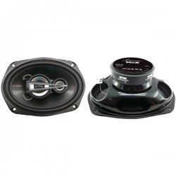 """Lanzar - MX693 - Lanzar MX693 Speaker - 300 W RMS - 600 W PMPO - 3-way - 2 Pack - 40 Hz to 22 kHz - 4 Ohm - 6"""" x 9"""""""