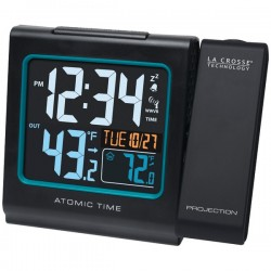 La Crosse Technologies - 616-146 - Atomic Wall Clock Solar Power