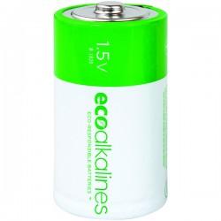 Eco Alkalines / Lei Electronics - ECOD12A - EcoAlkalines(TM) ECOD12A D EcoAlkaline(TM) Batteries (12 pk)