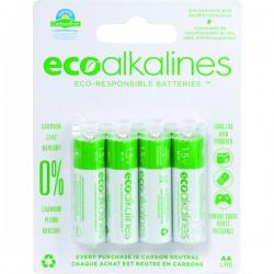 Eco Alkalines / Lei Electronics - ECOAA8A - EcoAlkalines(TM) ECOAA8A AA EcoAlkaline(TM) Batteries (8 pk)