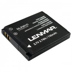Lenmar - DLZ301C - Lenmar DLZ301C Camera Battery - 740 mAh - Lithium Ion (Li-Ion) - 1 Pack