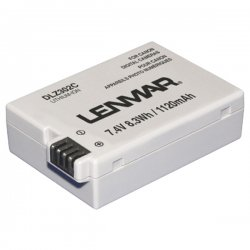 Lenmar - DLZ302C - Lenmar Canon LP-E8 Replacement Battery - 1120 mAh - Lithium Ion (Li-Ion) - 7.4 V DC