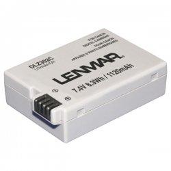 Lenmar - DLZ302C - Lenmar Canon LP-E8 Replacement Battery - 1120 mAh - Lithium Ion (Li-Ion) - 7.4 V DC