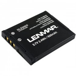 Lenmar - DLZ305O - Lenmar Olympus LI-70B Replacement Battery - 650 mAh - Lithium Ion (Li-Ion) - 3.7 V DC