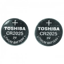Lenmar - WCCR2025X2 - LENMAR WCCR2025X2 3-Volt CR2025 Coin Cell Battery, 2 pk