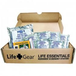 Life Gear - LG329 - Life+Gear LG329 Life Essential 72-Hour Food & Water Kit
