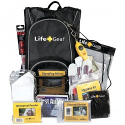 Life Gear - LG492 - Life+Gear LG492 Day Pack Emergency Survival Backpack Kit