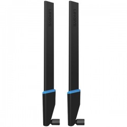 Belkin / Linksys - WRT002ANT - Linksys WRT002ANT - Antenna - 7 dBi (for 5 GHz), 4 dBi (for 2.4 GHz) - omni-directional (pack of 2)