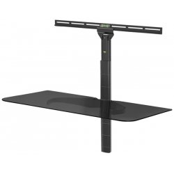 LevelMount - ELGS - Level Mount ELGS Glass Component Shelf for Flat Panel Mounts
