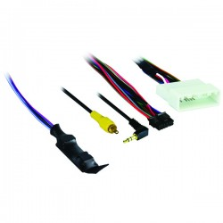 Axxess - AX-NIS32SWC-6V - Axxess(R) AX-NIS32SWC-6V Nissan(R) (with 4.3 display) 2010 & Up Harness with 6-Volt Converter
