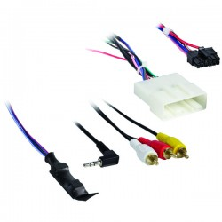 Axxess - AX-NIS24SWC-6V - Axxess(R) AX-NIS24SWC-6V Nissan(R) (with NAV) 2011 & up Harness with 6-Volt Converter