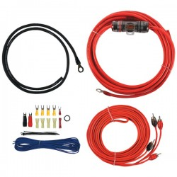 T-Spec - V6-RAK8 - T>Spec(R) V6-RAK8 v6 SERIES Amp Installation Kit with RCA Cables (8 Gauge)