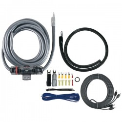 T-Spec - V8-RAK1-0 - T>Spec(R) V8-RAK1-0 v8 SERIES Amp Installation Kit with RCA Cables (1/0 Gauge)