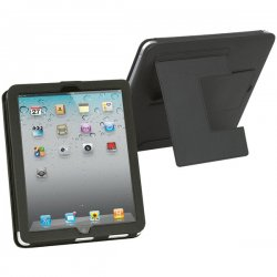 Merkury - M-IP2610 - Merkury Innovations Duo Flipstand iPad Case - iPad - Leather