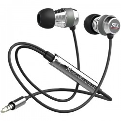 Margaritaville - MIX2 BLACK - Margaritaville(R) Audio MIX2 BLACK In-Ear Monitor Headphones with Microphone (Black Sand)