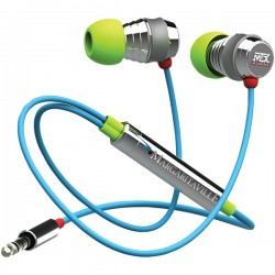Margaritaville - MIX2 MACAW - Margaritaville(R) Audio MIX2 MACAW In-Ear Monitor Headphones with Microphone (Macaw)