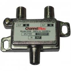 Channel Plus - 2532 - Channel Plus Two-way Non Ir Splitter