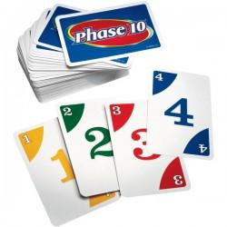 Mattel - W4729 - Mattel Phase 10 Card Game - 2 to 6 Players