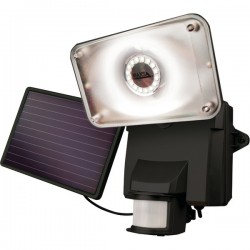 Maxsa - 44641 - MAXSA(R) Innovations 44641 Motion-Activated Solar LED Security Flood Light (Black)