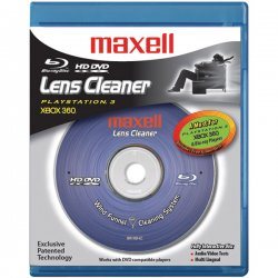 Maxell - 190054 - Maxell Blu-Ray Lens Cleaner - For Optical Disc Player, Gaming Console