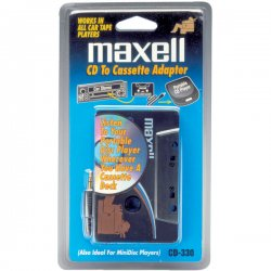 Maxell - 190038 - Maxell Cd To Cassette Car Adapter White