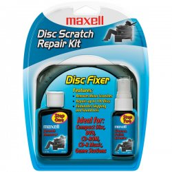 Maxell - 190041 - Maxell CD/CD-ROM Scratch Repair Kit