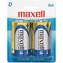 Maxell - 723020 - Maxell LR20 BP D-Size Battery Pack - Alkaline - 1.5V DC