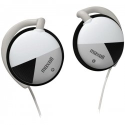 Maxell - 190561 - Maxell EC-150 Stereo Earphone - Black - Wired - 32 Ohm - 20 Hz 22 kHz - Silver Plated