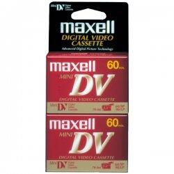 Maxell - 298012 - Maxell Mini DV Videocassette - MiniDV - 60 Minute