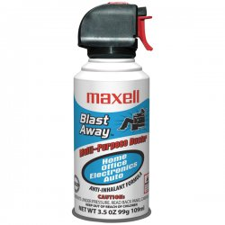 Maxell - 190027 - Maxell Blast Away CA-5 Cleaning Duster - For Home/Office Equipment - Non-flammable - 1 Pack