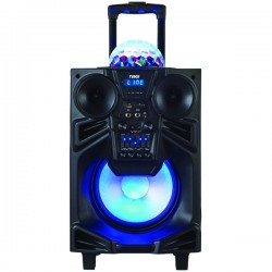 Naxa - NDS1001 - Naxa Nds1001 Portable 10 Inch Pa Dj Speaker With Bluetooth