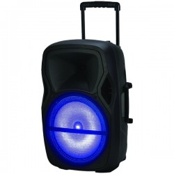 Naxa - NDS-1203 - Naxa(R) NDS-1203 Portable Bluetooth(R) DJ/PA Speaker (12, 1500W peak power)