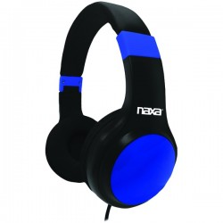 Naxa - NE-952 BLUE - Naxa(R) NE-952 BLUE ORION Headphones with Microphone