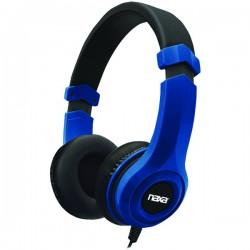 Naxa - NE-954 BLUE - Naxa(R) NE-954 BLUE METRO Stereo Headphones