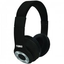 Naxa - NE965BLACK - Naxa Ne965 Black Backspin Bluetooth Wireless Headphones