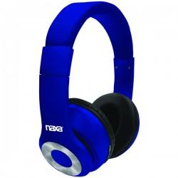 Naxa - NE965BLUE - Naxa Ne965 Blue Backspin Bluetooth Wireless Headphones