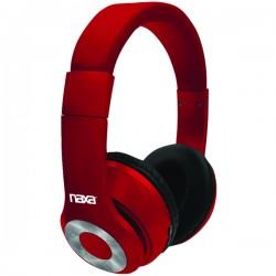 Naxa - NE965RED - Naxa Ne965 Red Backspin Bluetooth Wireless Headphones