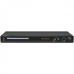Naxa - ND-837 - Naxa ND-837 1 Disc(s) DVD Player - Black - DVD-R, CD-RW - DVD Video, AVI - Progressive Scan - SD, MultiMediaCard (MMC) - USB