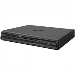 Naxa - ND856 - Naxa ND-856 1 Disc(s) DVD Player - Black - DVD-R, CD-R - NTSC, PAL - DVD Video, MPEG-1, MPEG-2, MP4, XviD, DivX, AVI - Progressive Scan - USB